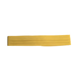 puggaree ~ 3 pleat solid ~ lt mustard