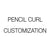 pencil-curl-customization