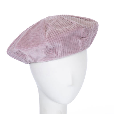 mauve Cora beret for women by giovannio
