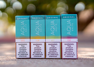 Aqua Original 30mL Premium Salt Liquid