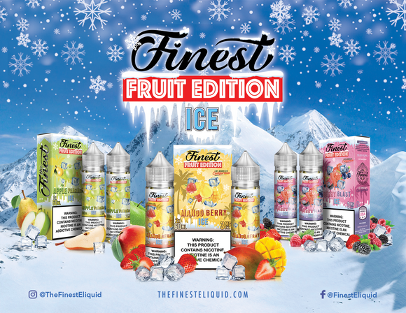 The Finest ICED Fruit Edition E-Liquid