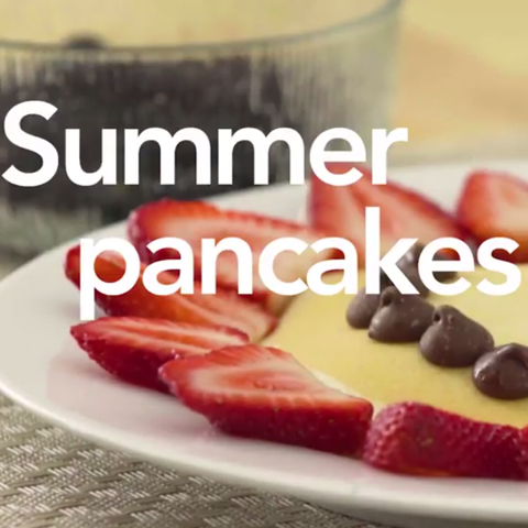 Summer Pancake Art Ideas