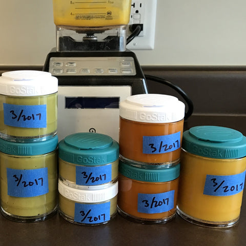 A Guide To Baby Food Storage Containers: Methods For Storage, Freezing & Thawing