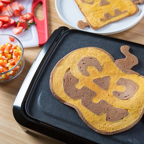 Fuel Your Ghosts and Goblins with Halloween Pancake Art