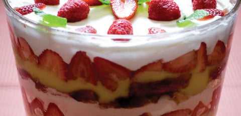 Simply Strawberry Triffle