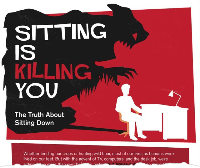 IS YOUR JOB KILLING YOU? (LITERALLY.)