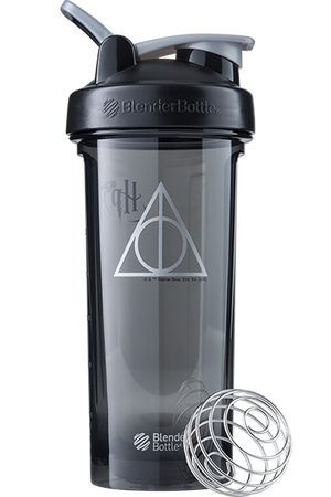 Deathly Hallows Harry Potter Blender Bottle ProSeries Shaker Cup
