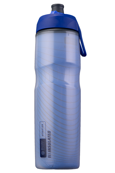 Halex Insulated Squeeze Bottle Blue