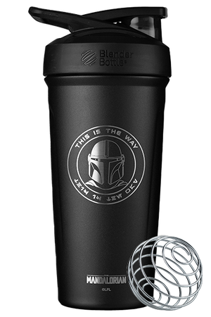This Is the Way Insulated Stainless Steel Shaker Bottle by BlenderBottle