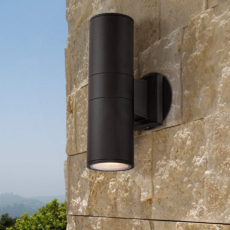 Up and Down Cylinder Sconce Light for Indoor and Outdoor Use