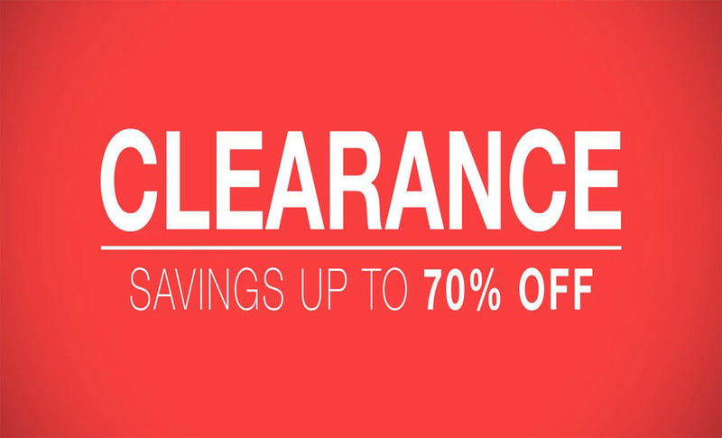 Top 5 Best Selling Clearance Items