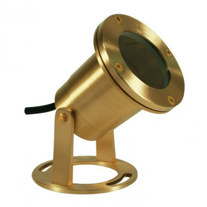 Orbit B510 Solid Brass 12V MR16 35W Underwater Light - Southern California Electric
