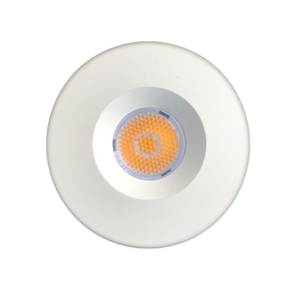 ABBA 1.5W Aluminum Smooth LED Round 3000K Cabinet Light