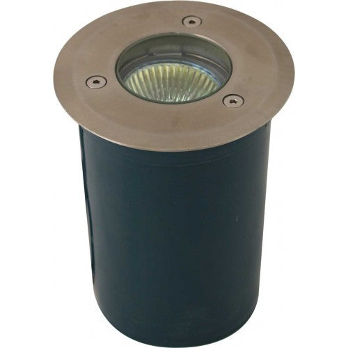 Orbit 5010R Stainless Steel 12V MR16 35W Round Well Light with PVC Sleeve