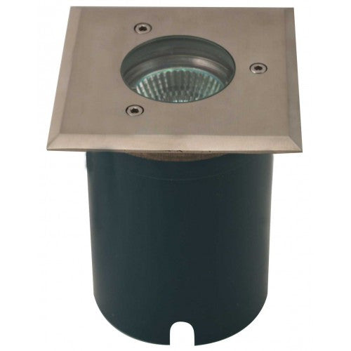 Orbit 5010S Stainless Steel 12V MR16 35W Square Well Light on PVC Sleeve - Southern California Electric