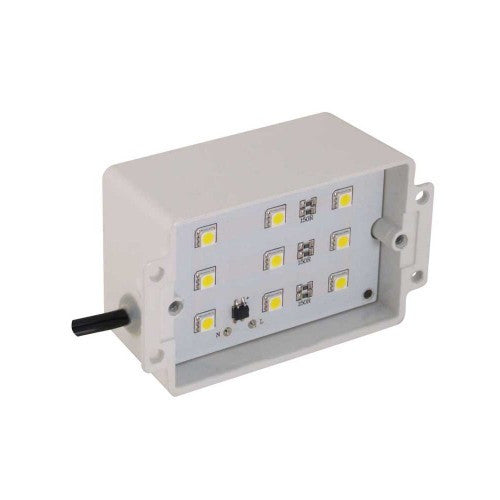 Orbit 7100H-LED LED Powder Coated Galvanized (Housing Only) Step Light - Southern California Electric