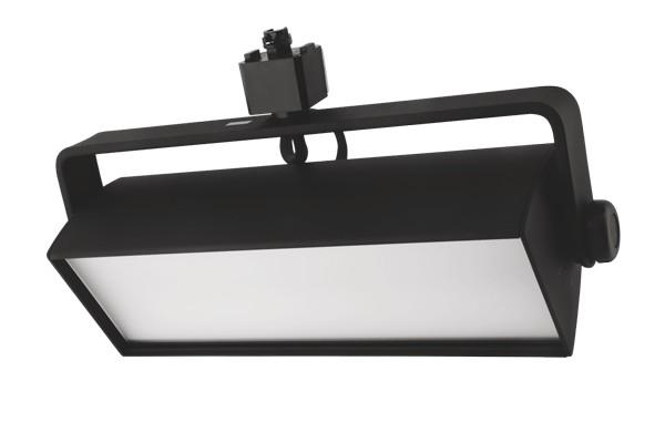 ELCO Lighting 120V ETW4130B LED Distell Wall Wash Track Fixture 60W 3000K 4800 lm Black Finish