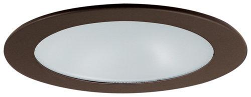 Elco EL1412 4 Low Voltage Adjustable Shower Trim with Diffused Lens  - Bronze - Southern California Electric