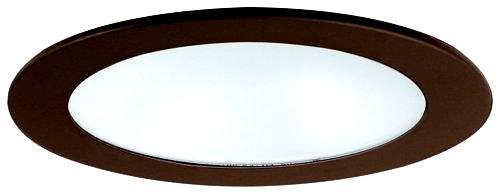 Elco EL1412 4 Low Voltage Adjustable Shower Trim with Diffused Lens  - Black - Southern California Electric