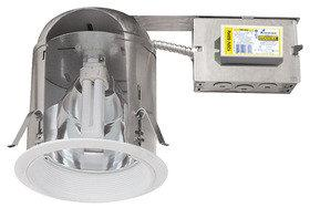 Elco EL27RHE26 6 Vertical CFL Remodel Downlight Housing - 26 Watts - Southern California Electric