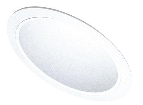 Elco EL616 6 120V and CFL Sloped Reflector Trim  - White - Southern California Electric