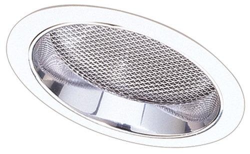 Elco EL642 6 CFL Sloped Reflector with Regressed Albalite Lens Trim  - Clear Reflector, White Ring - Southern California Electric