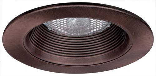 Elco EL993 4 Phenolic Baffle with Metal Ring  - Bronze - Southern California Electric