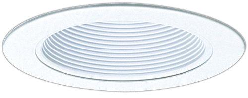Elco EL993 4 Phenolic Baffle with Metal Ring  - White - Southern California Electric