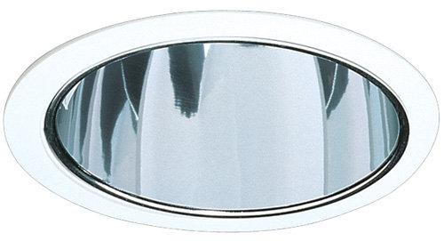 Elco ELA99 6 CFL Reflector Trim  - Clear Reflector, White Trim
