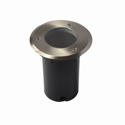 Oak 12V Stainless Steel GW332-SS Round In-Ground W/LED Lamp