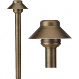 Best Quality Lighting LV60 Die Cast Brass Low Voltage 12V Path Light - Southern California Electric