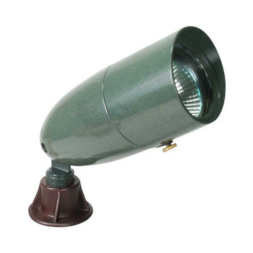 Orbit 1071 12V Cast Aluminum Directional Bullet Landscape Light with Hood