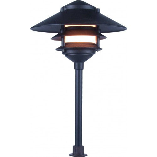 Orbit 2031 Cast Aluminum 3-Tier Large Top Path Landscape Light