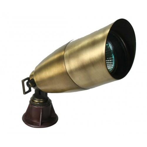 Orbit B171 12V Cast Brass Directional Landscape Light Fixture