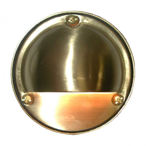 "Orbit B7011 Solid Cast Brass 4"" Surface Moon Wall/Step Light - Southern California Electric"