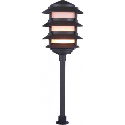 Orbit 2040 Cast Aluminum Low Voltage 4-Tier Pagoda Large Top Path Landscape Light