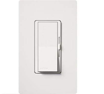 Lutron Diva DVF-103P Single Pole/ 3-Way 120 Volt 8 Amp Dimmer - White - Southern California Electric
