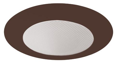 Elco EL12 6 Shower Trim with Albalite Lens - Bronze Ring - Southern California Electric