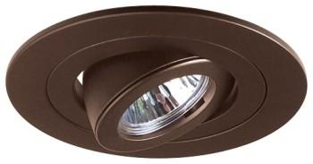 Elco EL1488BZ 4  Low Voltage Diecast Adjustable Spot Trim - Bronze - Southern California Electric