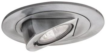 Elco EL1497N 4  Low Voltage Adjustable Pull Down - Brushed Nickel - Southern California Electric