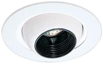 Elco EL1498W Low Voltage Adjustable Eyeball - White - Southern California Electric
