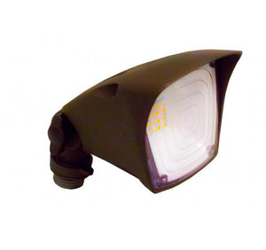 Westgate 10W Weatherproof LED Square Flood Heads, 120V - Bronze or White