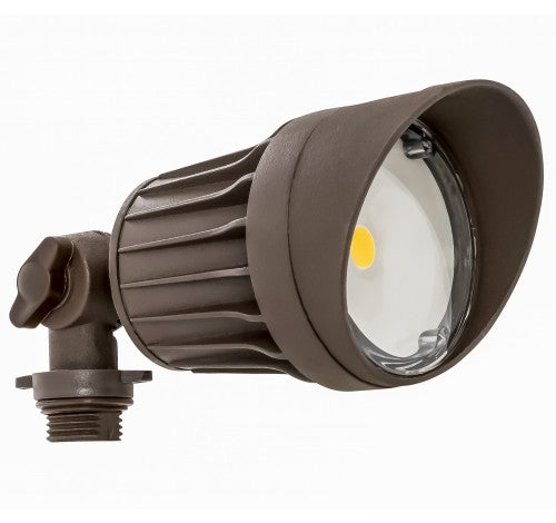 Westgate 10W Weatherproof LED Round Flood Heads, 120V - Bronze or White