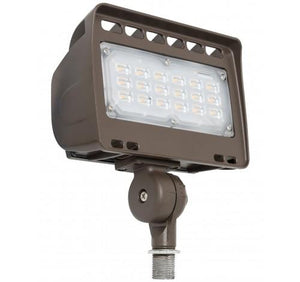 "Westgate 12V Wall Wash LED Architectural Flood Lights with 1/2"" Knuckle - 12W, 24W, 30W or 50W"