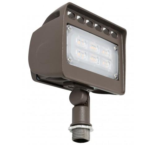 "Westgate 12V Wall Wash LED Architectural Flood Lights with 1/2"" Knuckle - 12W, 24W, 30W or 50W - Southern California Electric"