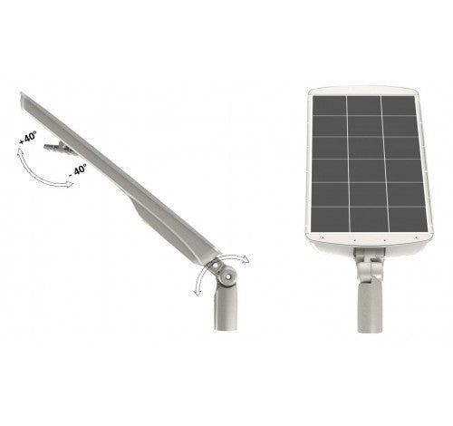 Westgate LED Solar Roadway Flood Lights with Mounting Options - 17W, 36W or 54W, Cool White - Southern California Electric