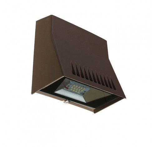 Westgate 12W LED Mini Cutoff Wall Pack - Dark Bronze or White - Southern California Electric