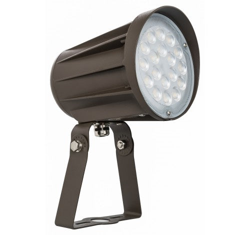 Westgate LED Bullet Flood Light 120-277V - 15W, 28W, 42W or 50W with Trunnion