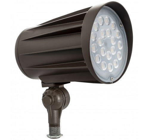 "Westgate LED Bullet Flood Light 120-277V - 15W, 28W, 42W or 50W with 1/2"" Knuckle"