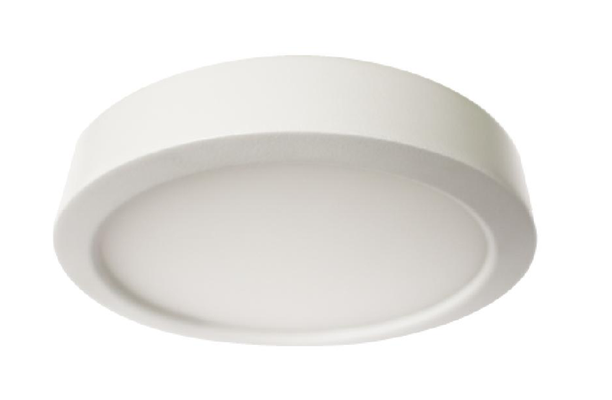 "Westgate 11W 6"" Round LED Flush Mount Surface Fixture - 120V - Southern California Electric"